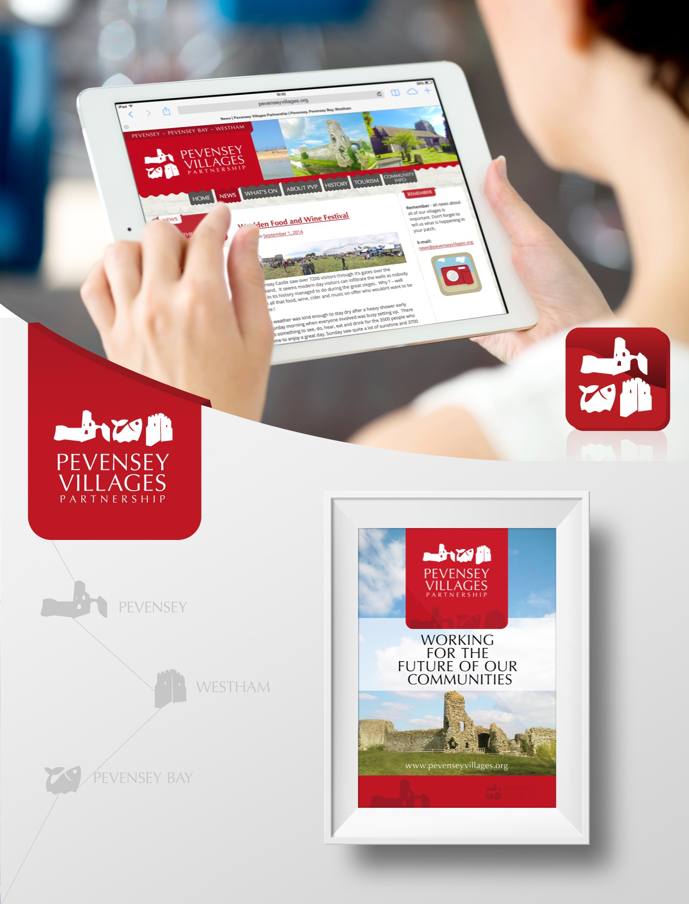Website - Pevensey Villages Partnership