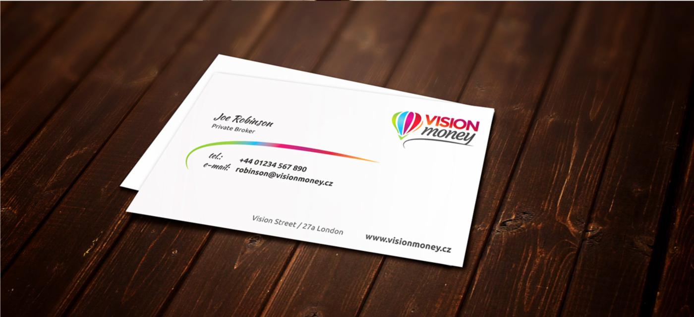 Business card - Money
