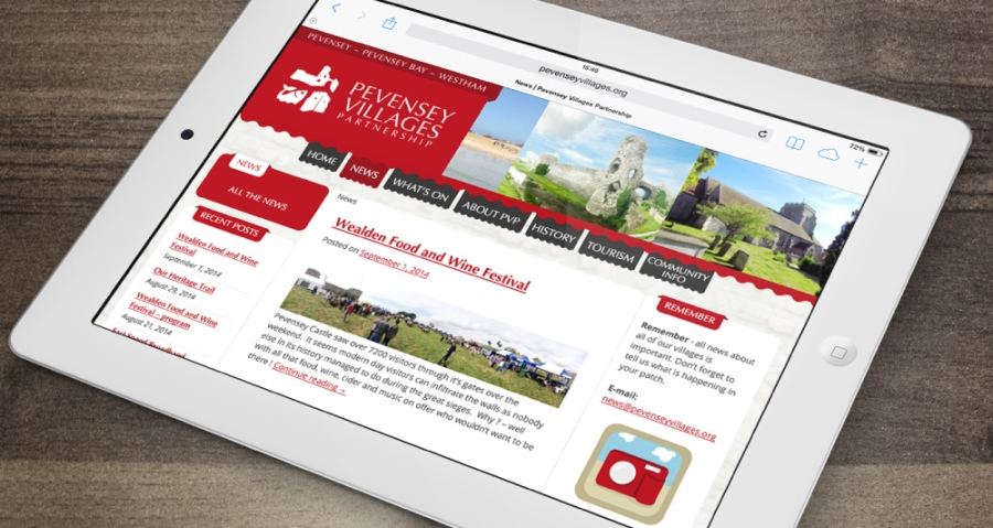 Pevensey Villages Partnership Website