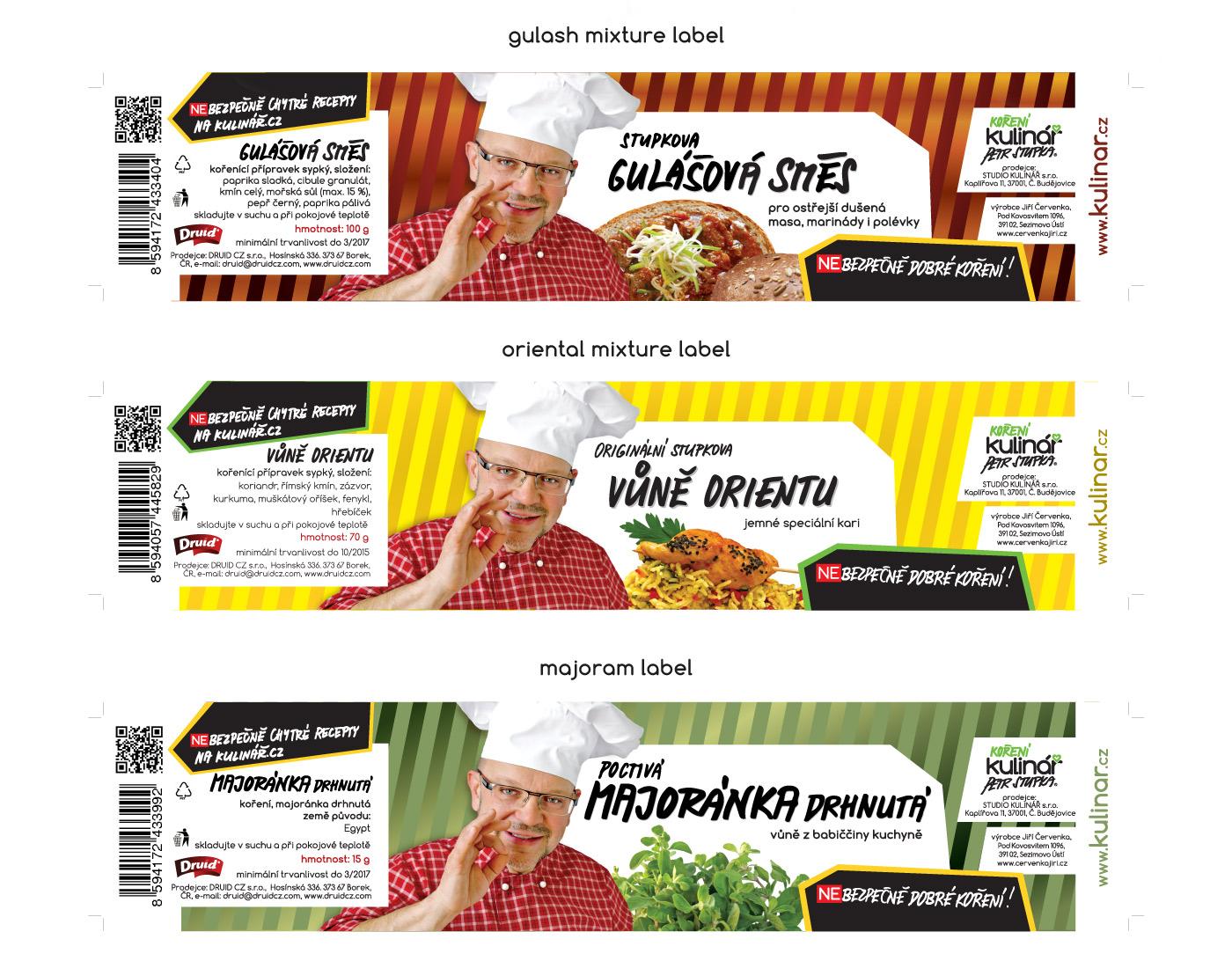 Labels - Kulinar Seasoning