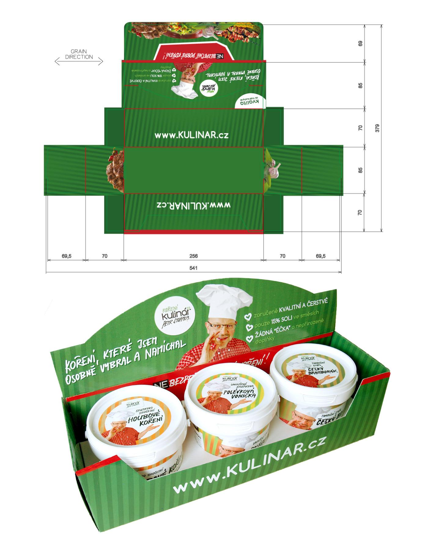 Gift packaging - Kulinar Seasoning