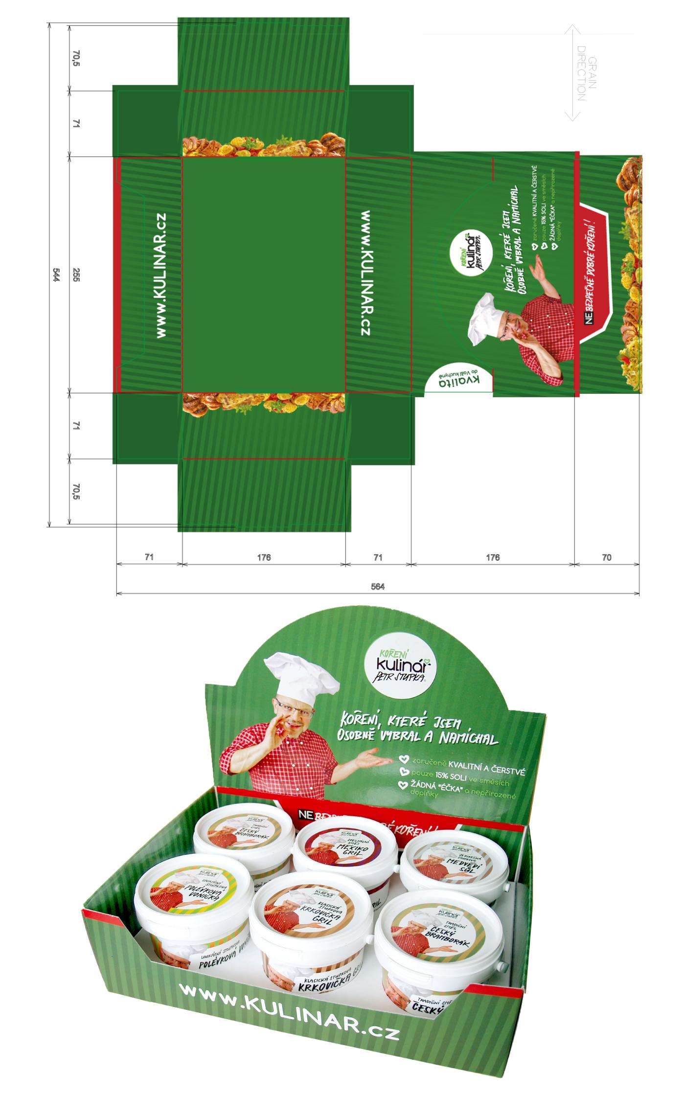 Gift packaging bigger - Kulinar Seasoning