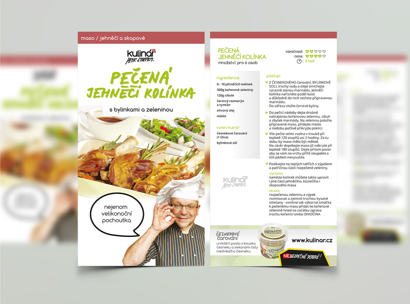 Recipes Cards - detail