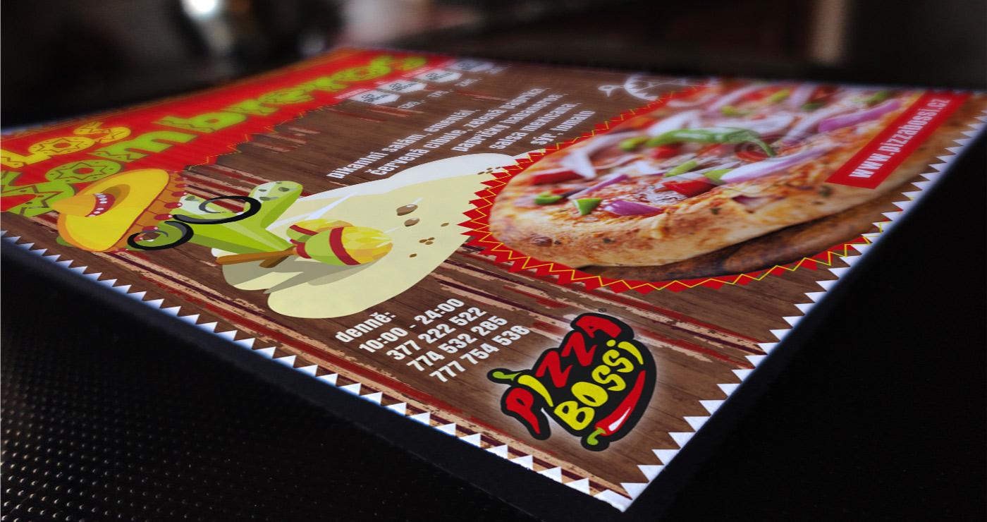 Leaflet Pizza - detail